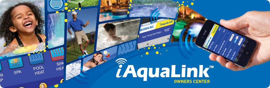 iAquaLink Owners Center
